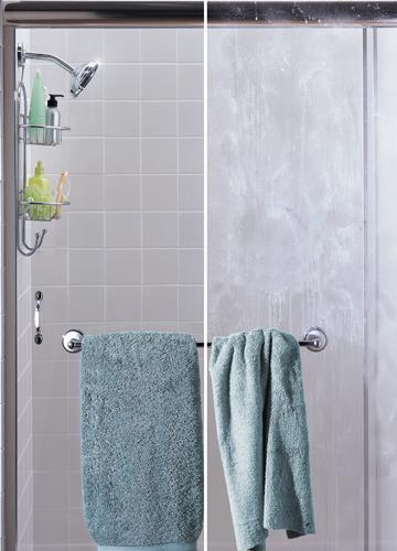 Soap Scum on Shower Door
